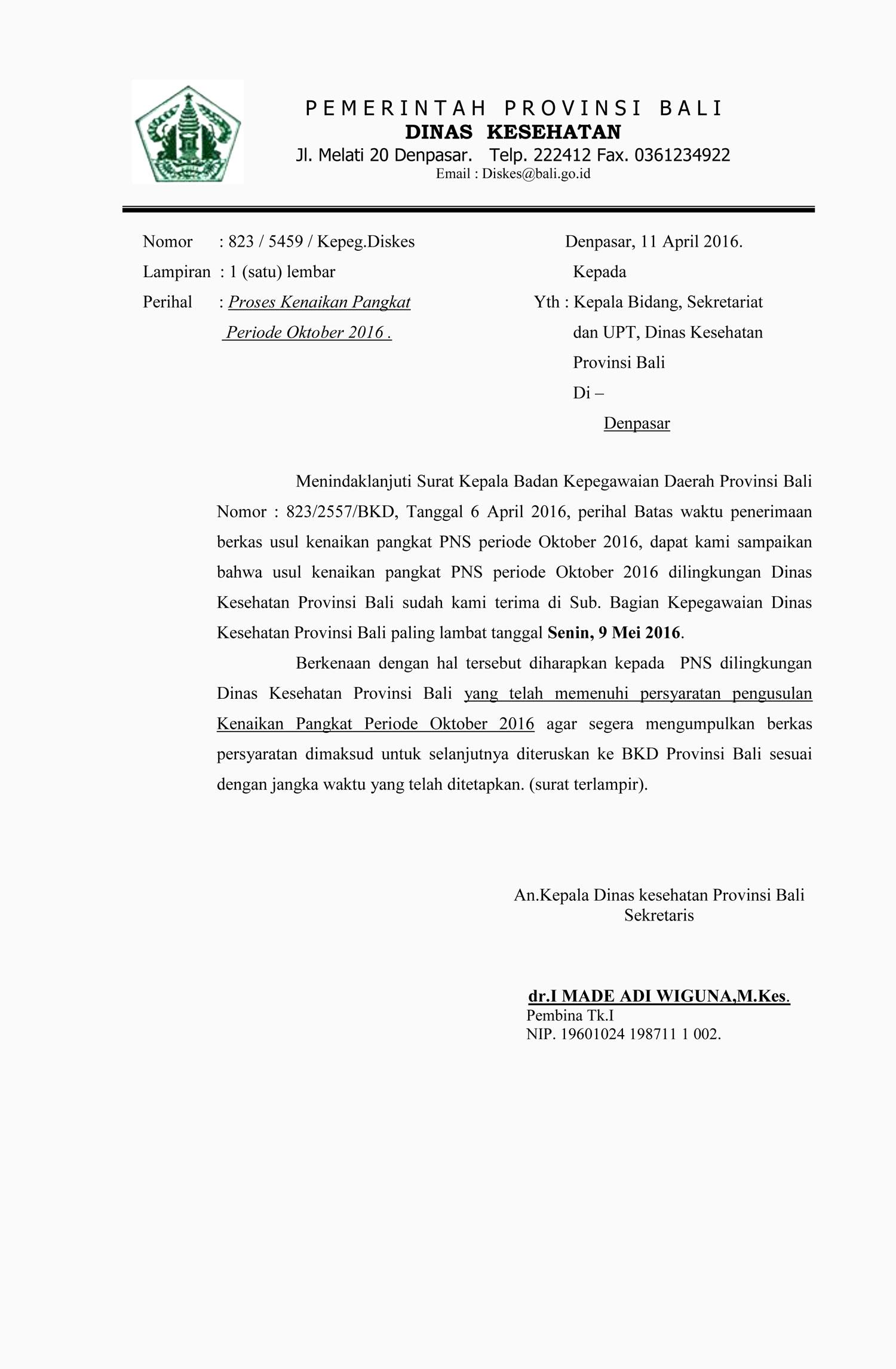 Kepegawaian Dinas Kesehatan Provinsi Bali Page 3 Kepegawaian Dinas Kesehatan Provinsi Bali